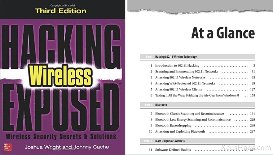 Book cover and review of Hacking Exposed Wireless