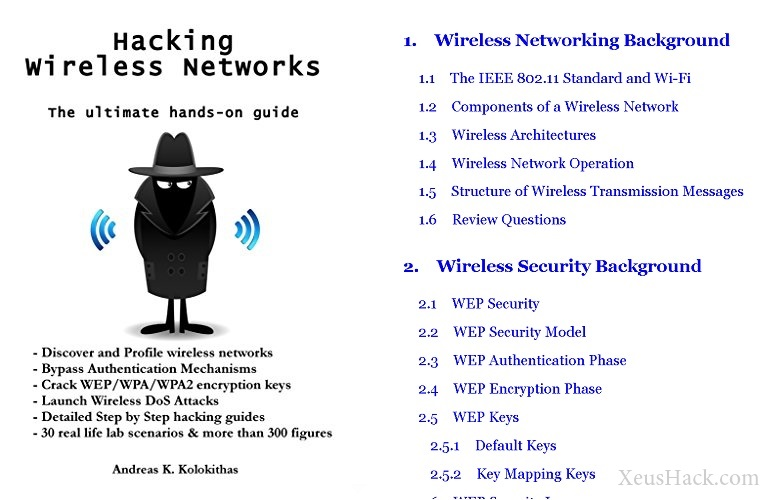 Book cover and review of Hacking Wireless Networks - The ultimate hands-on guide