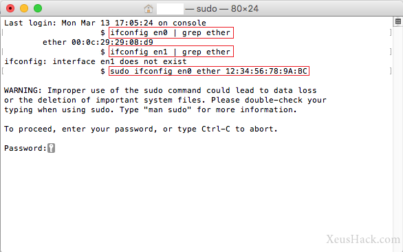 How to spoof your MAC Address on a Mac (OS X) | Hacking
